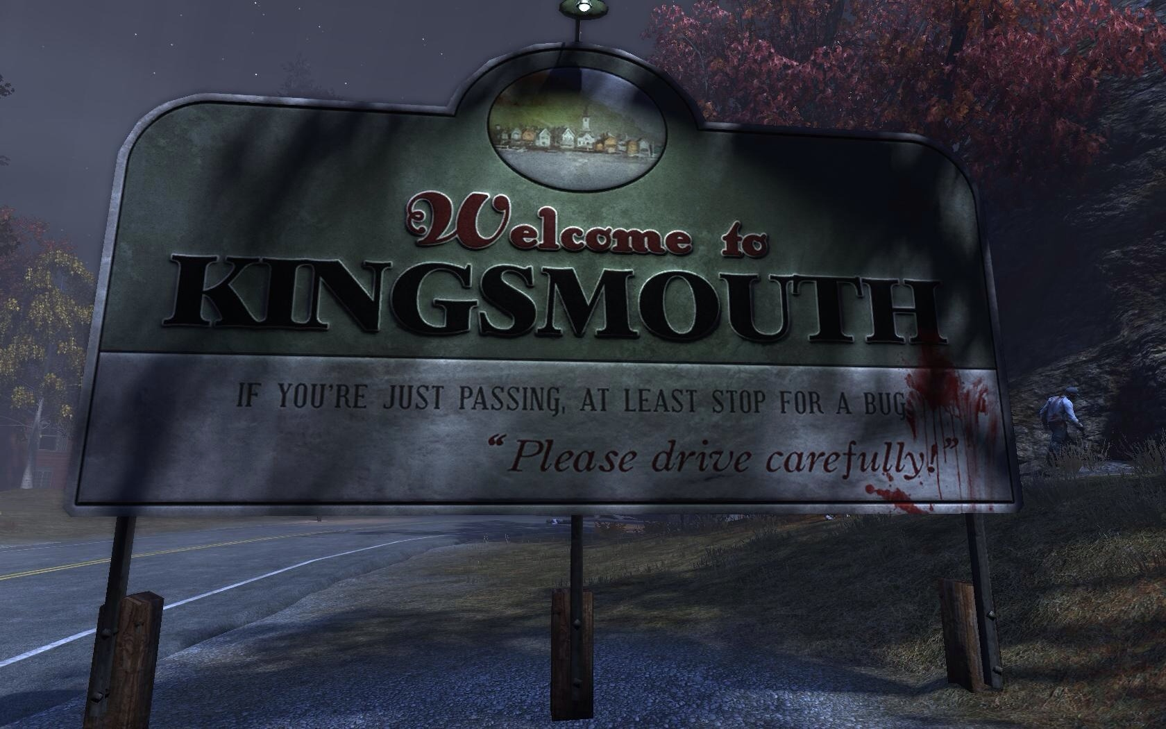 Kingsmouth sign