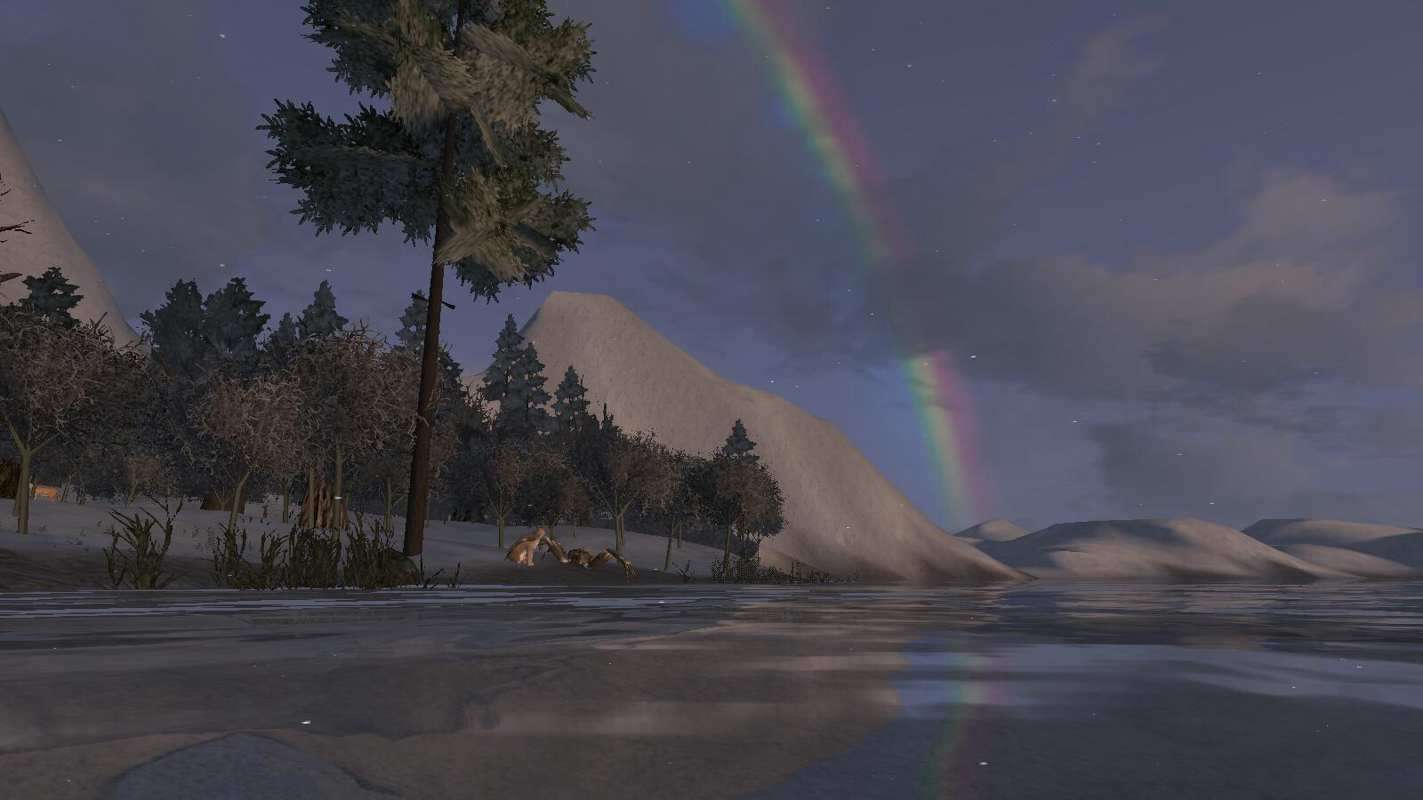 Rainbow pointing to Esteron